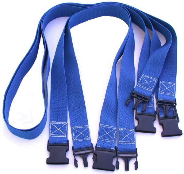 Volleyball Court 2 Inch Webbing Court Boundary Line Extender Blue