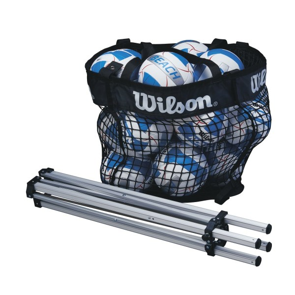 Wilson Beach Mesh Ball Cart Folded