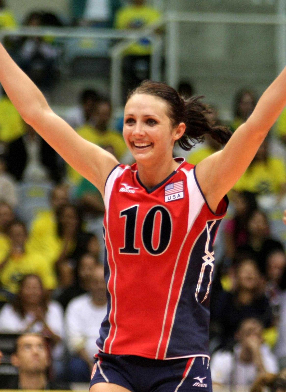 Destinee Hooker Amp Kristin Richards USA Womens Volleyball