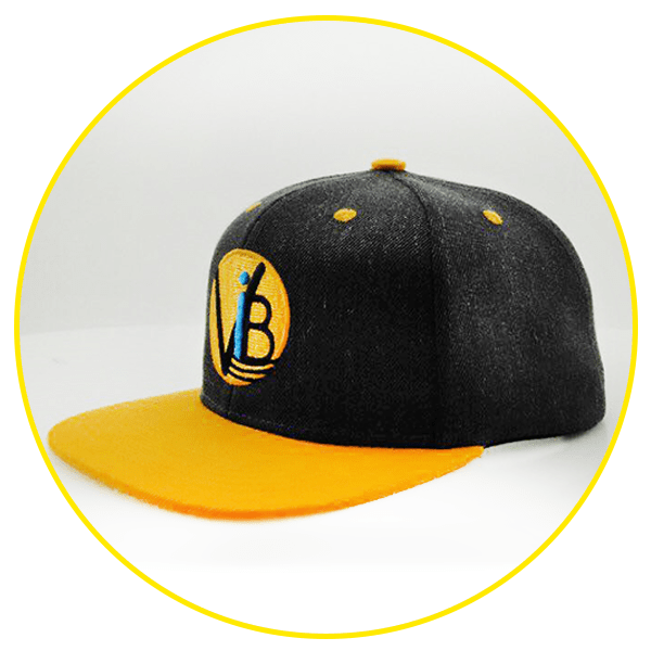 Yellow VolliBands Hat, Baseball Cap
