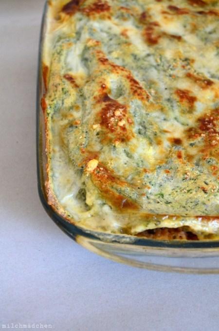Lasagne verdi al forno | milchmädchen.