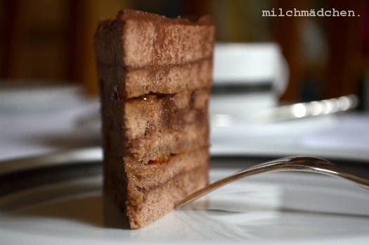 Buchweizen-Blutorangen-Torte | milchmädchen.