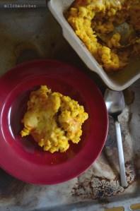 Mac'n Cheese mit Karotten und Kürbis | milchmädchen.