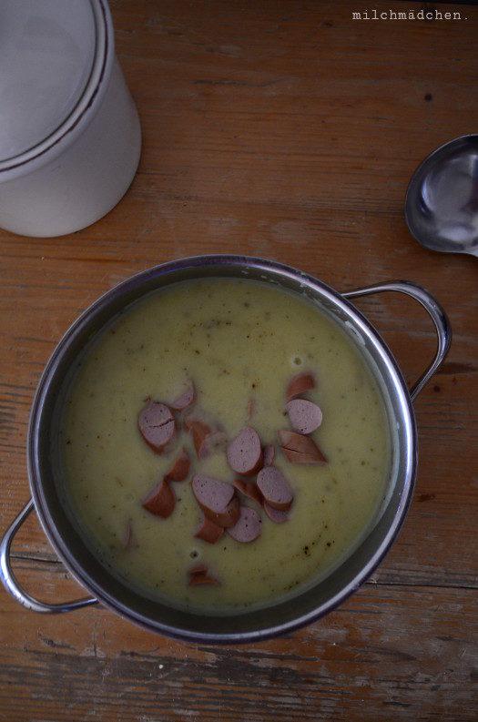 Für schlechte Zeiten: Kartoffelsuppe à la Kanzlerin