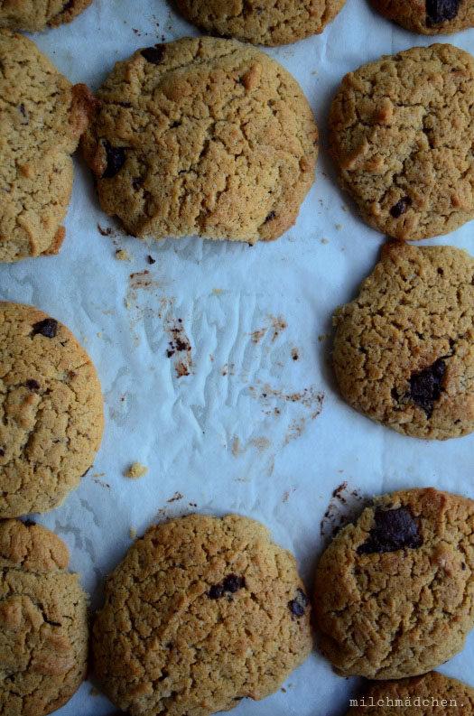 Kekse sind die Antwort: Cookies mit Sauerteig und Kaffee-Nussbutter