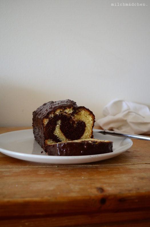 Le gâteau marbré chocolat-vanille de Yann Couvreur – oder: Das Marmorkuchenideal