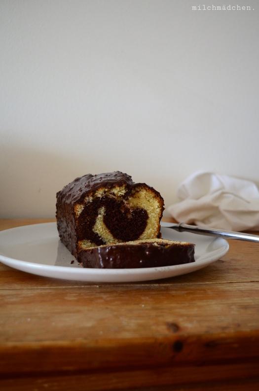 Gâteau marbré à la pralinoise de Yann Couvreur | milchmädchen.