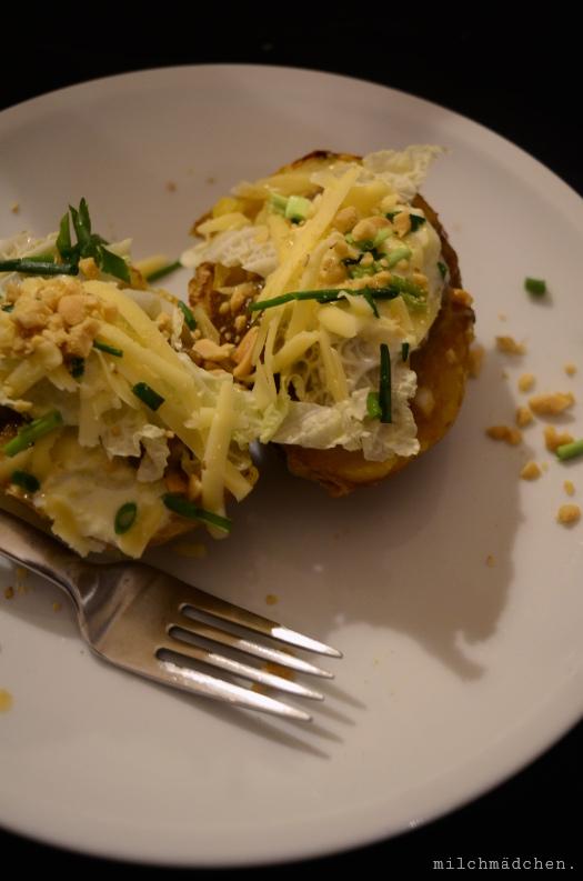 Weltoffene Ofenkartoffel nach Tohru Nakamura | milchmädchen.