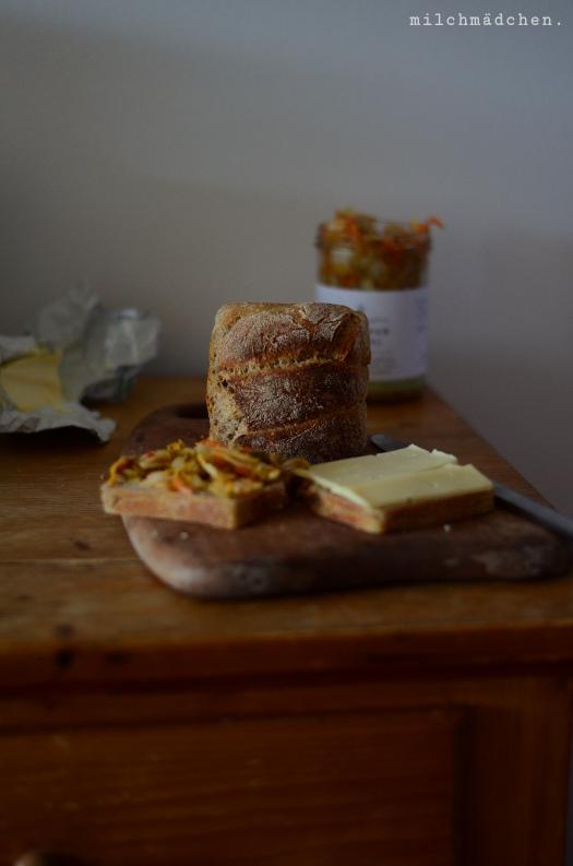 Kimchi Grilled Cheese | milchmädchen.