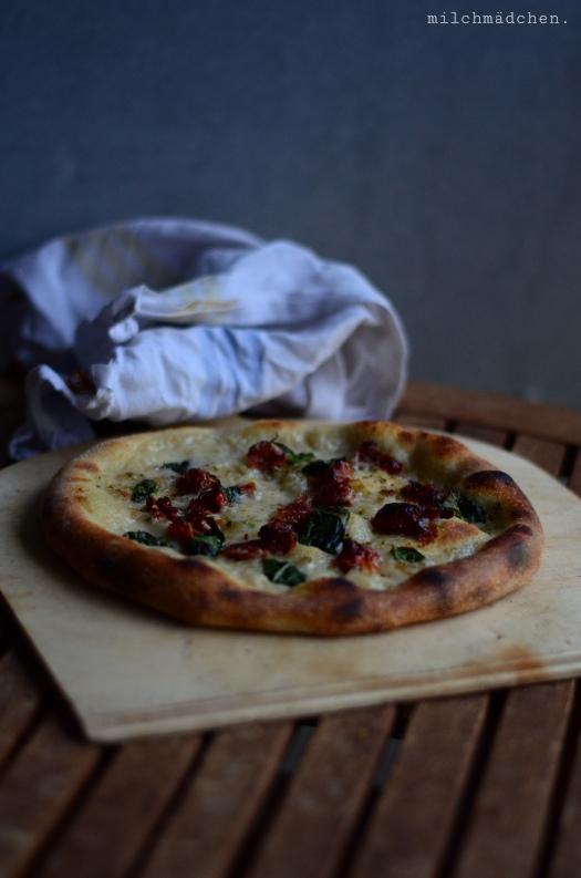 Vegan White Pizza | milchmädchen.
