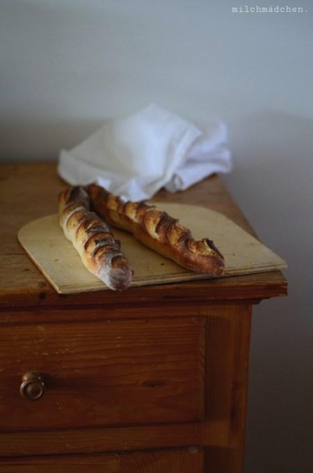 Baguette mit Festem Starter | milchmädchen.