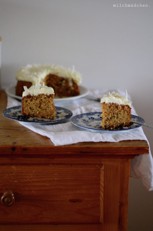 Sometimes it snows in April: Carrot Cake nach Ottolenghi