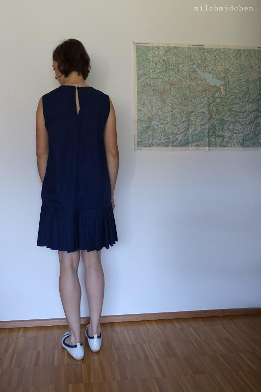 Freestyle-A-Line-Dress mit Faltenrock | milchmädchen.