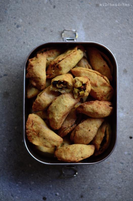 Empanadas mit Sauerteig | milchmädchen.