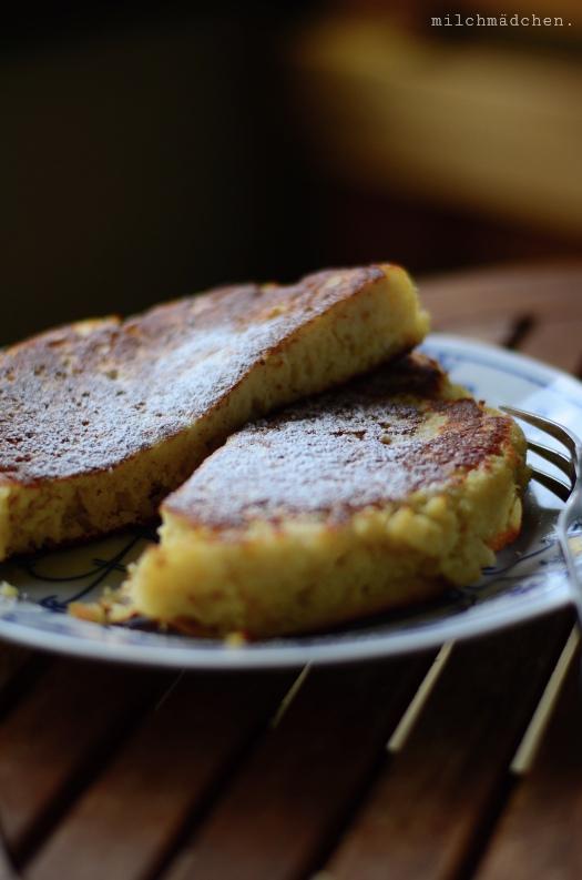 Dicker, fetter Pfannkuchen (Crackling Pancake) | milchmädchen.