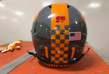 Vols' Football Helmets - Music City Bowl