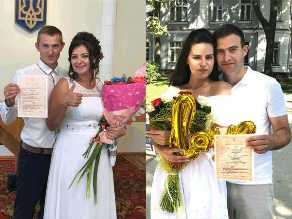 У магічний день у Володимирі одружилося п'ять пар