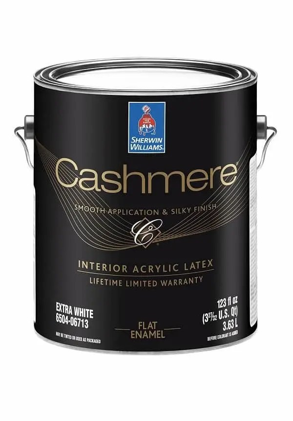CASHMERE INTERIOR LATEX PAINT