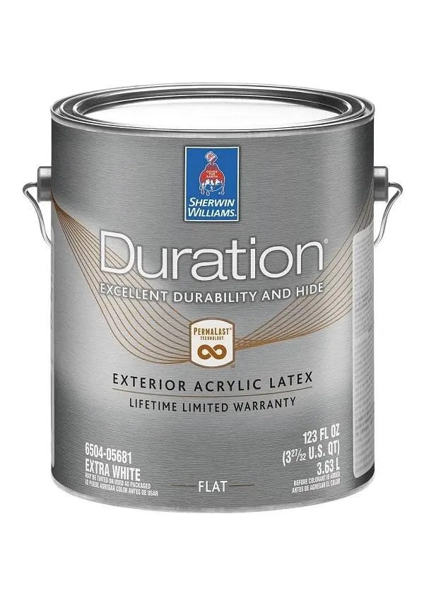 DURATION EXTERIOR LATEX PAINT