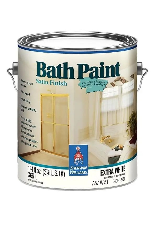BATH PAINT SATIN FINISH