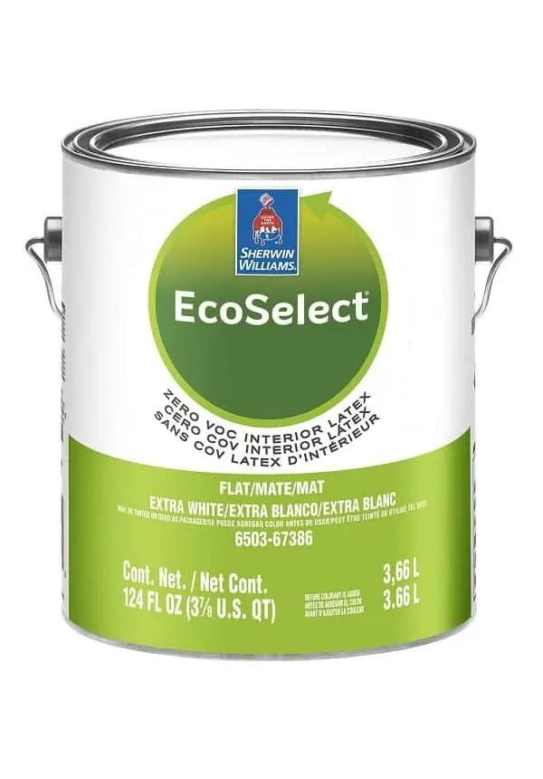 ECOSELECT ZERO VOC INTERIOR LATEX FLAT