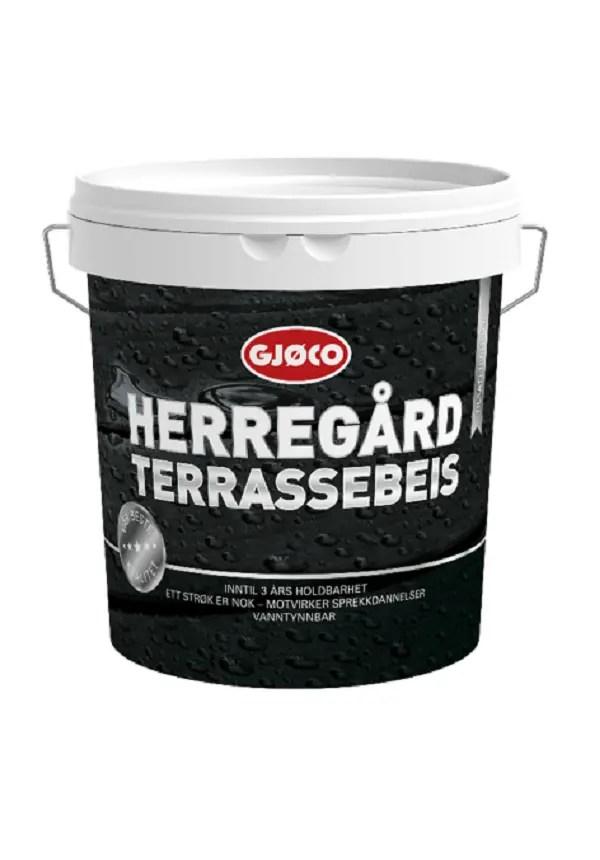 GJØCO HERREGÅRD TERRASSEBEIS