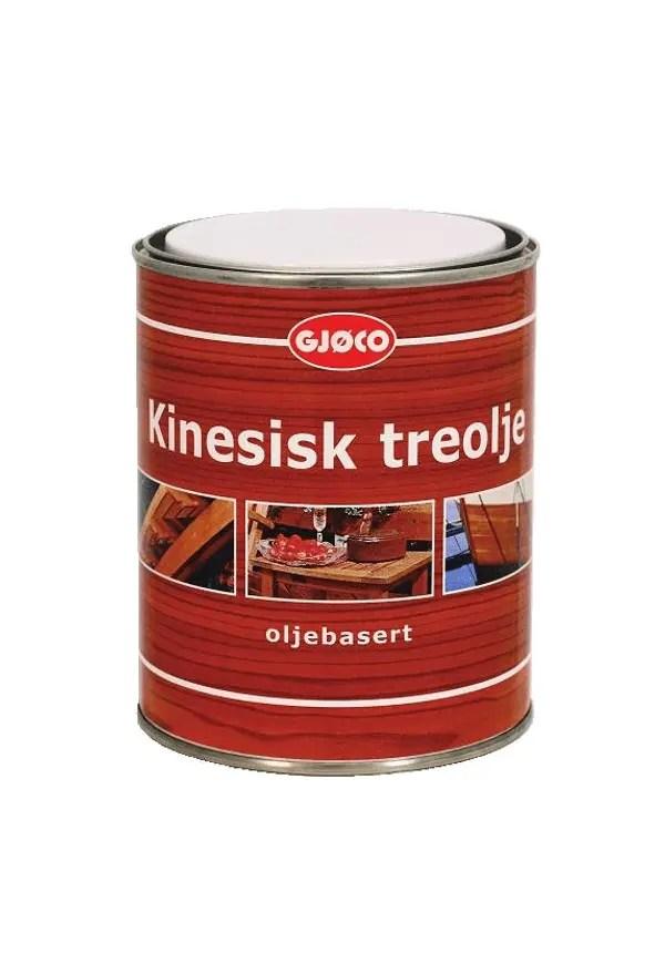 GJØCO KINESISK TREOLJE