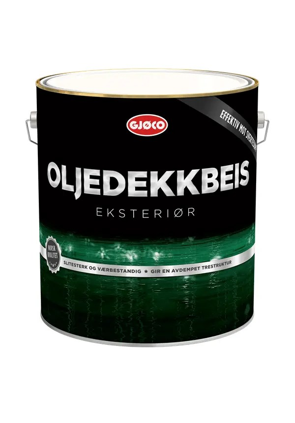 GJØCO OLJEDEKKBEIS