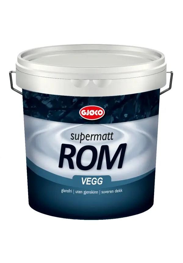 GJØCO SUPERMATT ROM