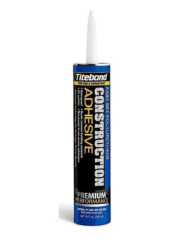 Titebond Fast Set Polyurethane Construction Adhesive 10oz 4221