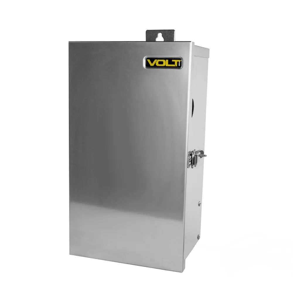 volt clamp connect 600 watt 12v 15v multi tap low voltage transformer