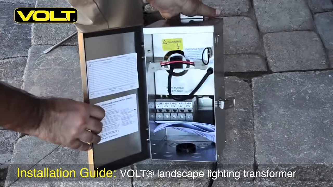 install a low voltage transformer