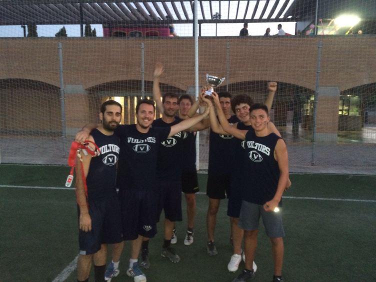 """""""Inés y sus colegas"""" los campeones del torneo"""