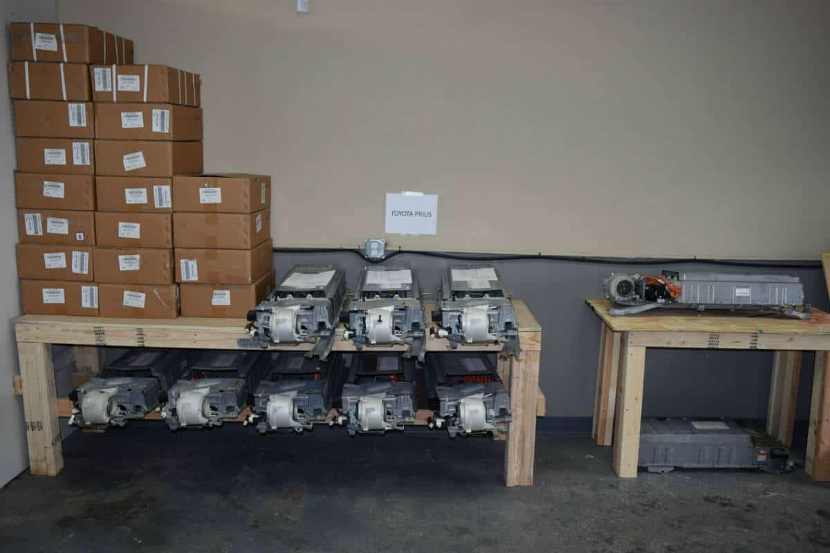 Hybrid battery inventory