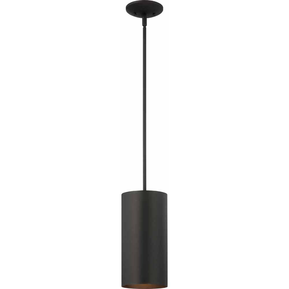 V9606-5 1-light Black Outdoor Pendant – Volume Lighting