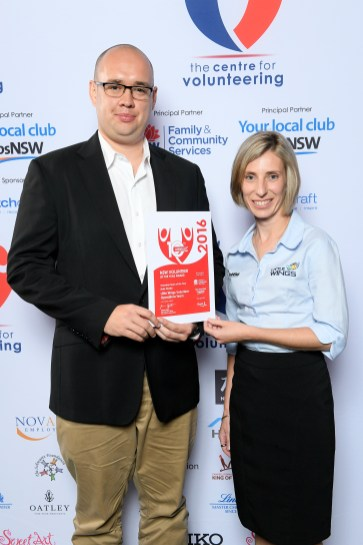L-R Little Wings Volunteer Operations Team - Stefan Janic & Rochelle Koller