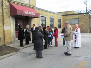 Preparing for Way of the Cross