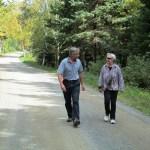 a warm walk