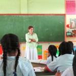 Patricia in class