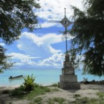 cross on lagoon side