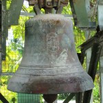 bell beside church
