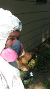 Bob Byrne in PPPE ready to inspect a commercial building in Cedar Bluff Area.