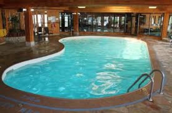Pools can be toxic due to off gassing chlorine.