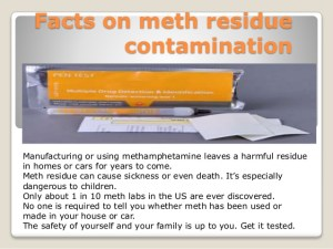 Facts on Meth Contamination Slide