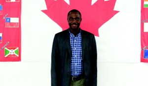 Thompson Ayodele is the local immigration partnership liaison at the Immigration and Multicultural Services Society. - Citizen photo by James Doyle - See more at: http://www.princegeorgecitizen.com/news/local-news/project-seeks-immigration-partnerships-1.2191290#sthash.xDroDyeM.dpuf