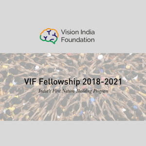Applications open for Vision India Foundation fellowship