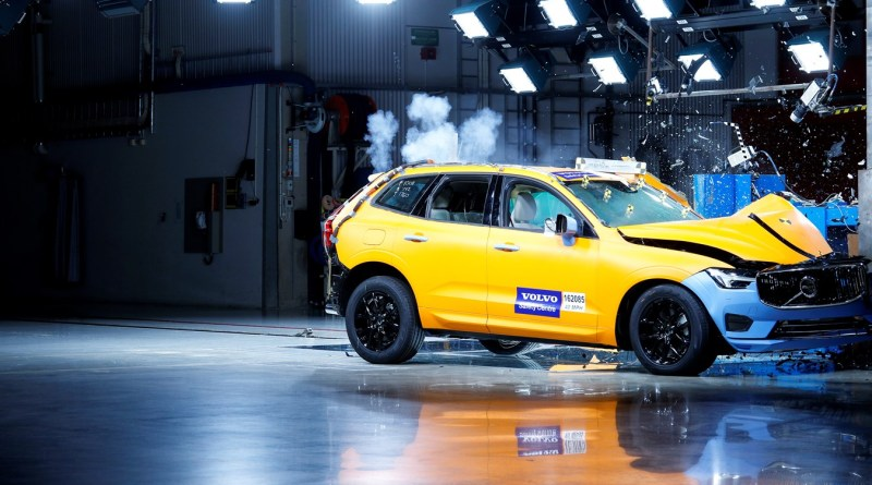 2018 Volvo XC60 Crash Test