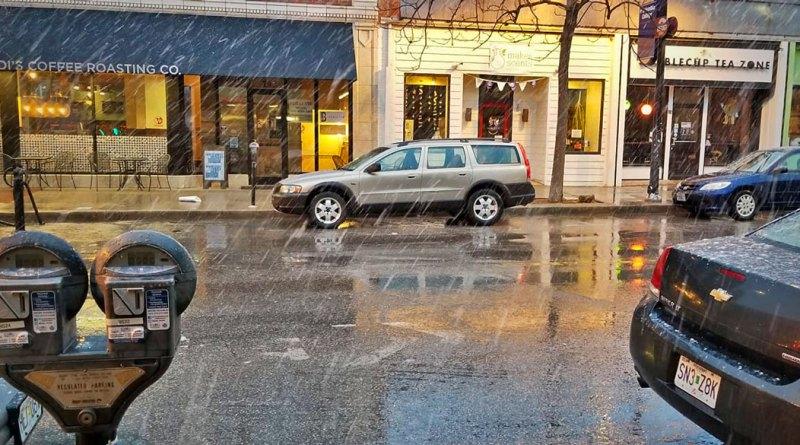 Danny DeVine Volvo V70 XC P2 in the Rain