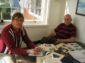 Fredrick Beste från P1800-klubbens intervjuar Per gillbrand i dennes hem 2005-09-24.