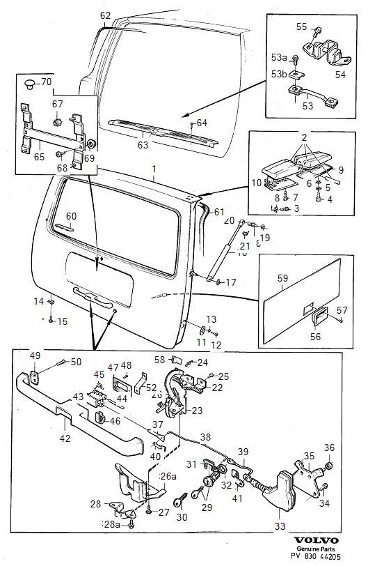 volvo 240 tailgate wiring diagram  center wiring diagram